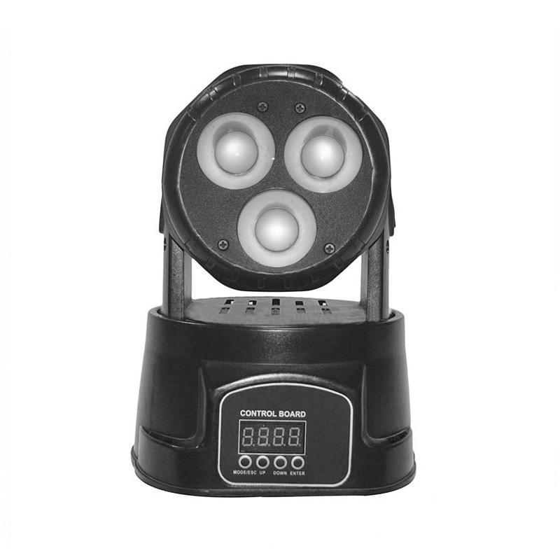 Moving Head Wash LED_M WASH C320 mini 3pcs 20W RGBW 4-in-1 COB led wash dj light