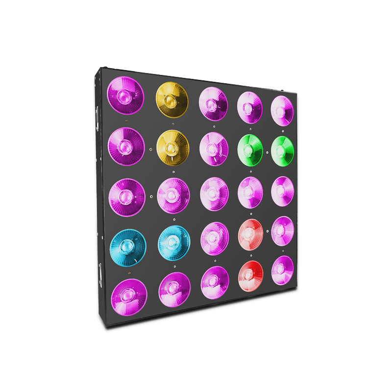 Led Stage Blinders C525 Equipped With 25*30W RGB COB LED Pixel Matrix Lighting