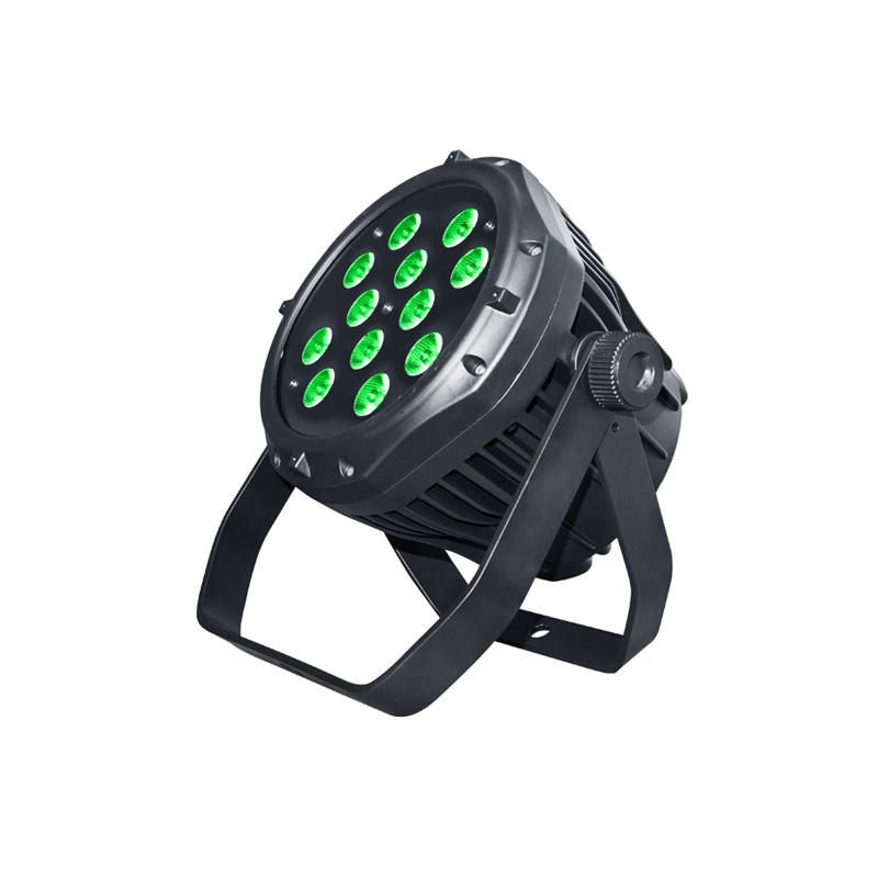 LED PAR Light_P WASH 124IP 12pcs 4W RGBW LED par waterproof Rated IP65 for outdoor architecture scenery light