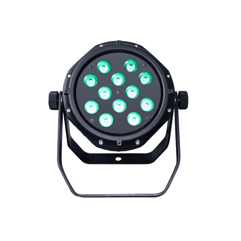 LED PAR Light_P WASH 124IP 12pcs 4W RGBW Cob Led Par