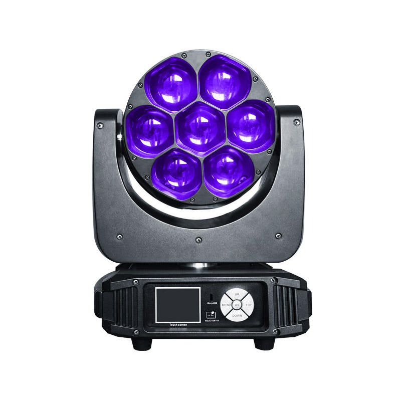 Led Wash Lights 740z 7pcs 40w Rgbw 4-In-1 Osram