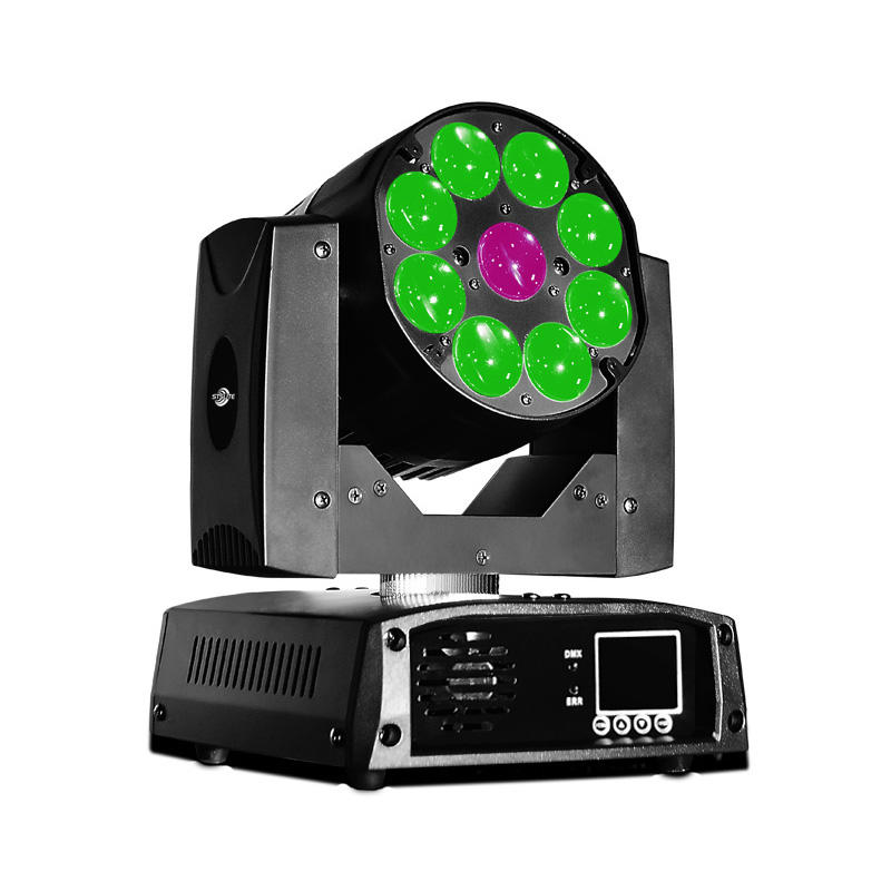 Moving Head Wash LED_M WASH 920Z 9pcs 20W RGBW 4-in-1 LED zoom wash lighting