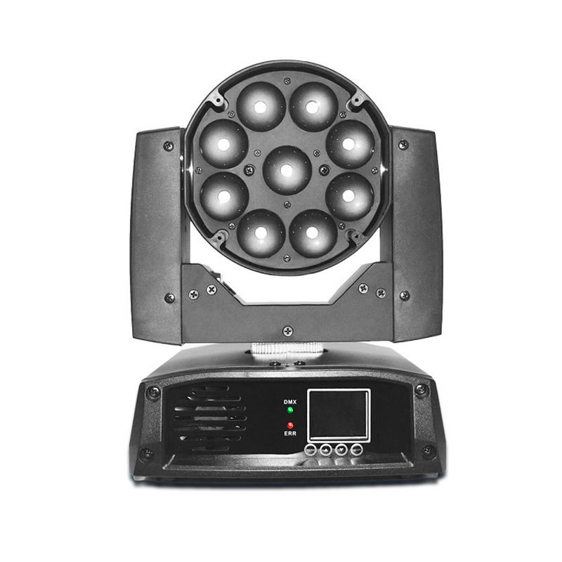 Moving Head Wash LED_M WASH 920Z 9pcs 20W RGBW 4-in-1 LED zoom wash lighting