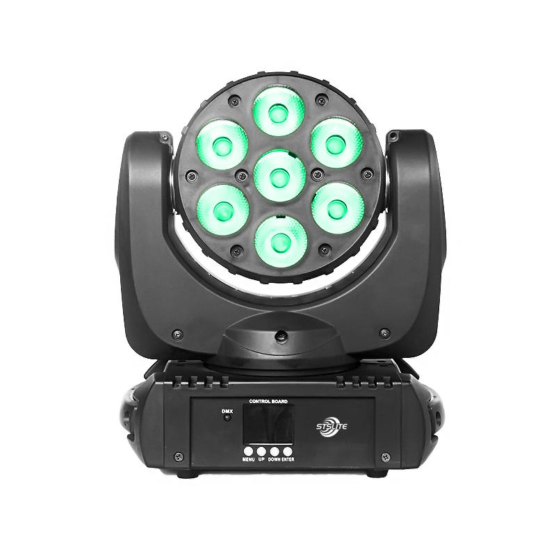 Moving Head Wash LED_MARS 715 7pcs 15W RGBW QUAD LED wash stage light