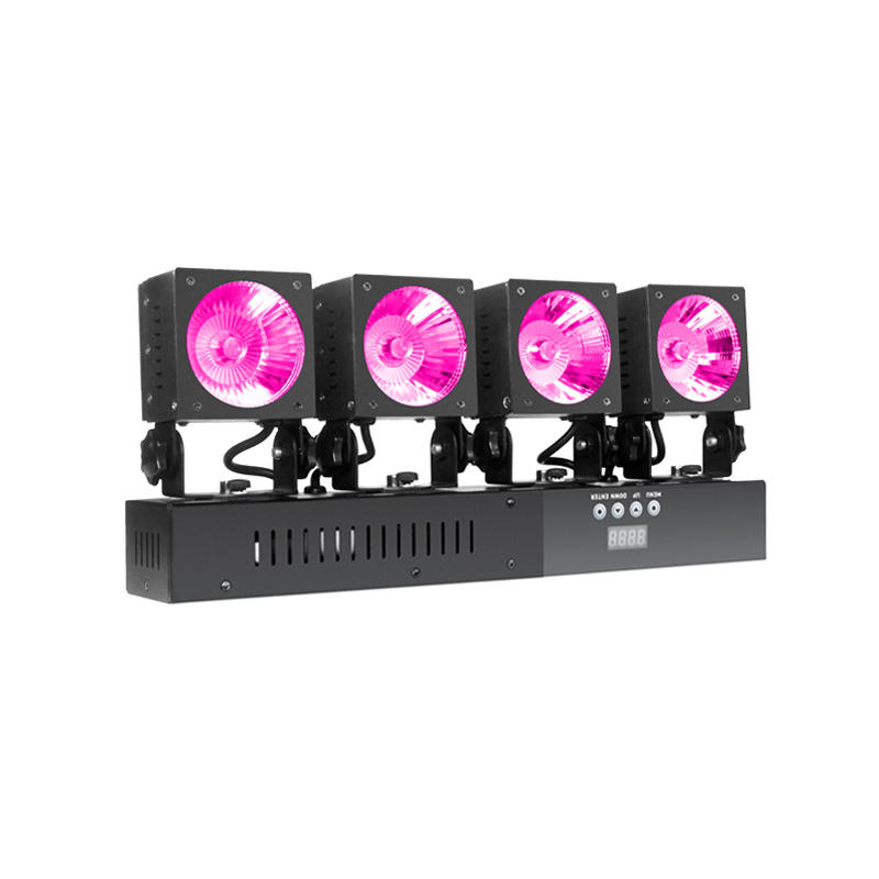 Matrix Lighting Led Mini Cob Pack  4x30w Rgbw Quad Cob
