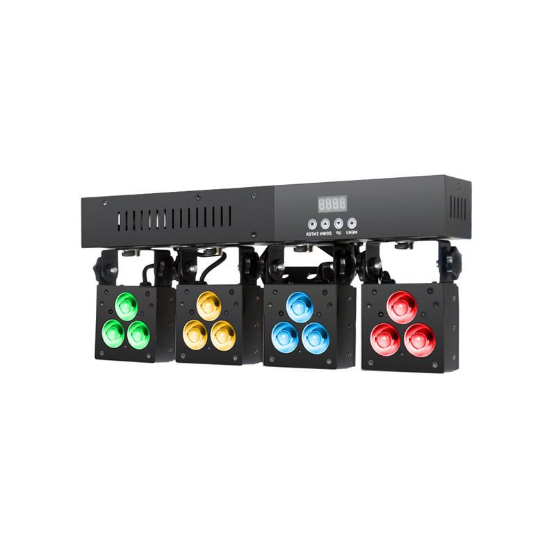 LED Matrix Light_MINI QUAD PACK II  12x4W RGBW Quad LED matrix lighting