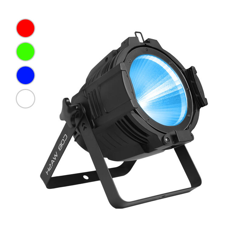 COB PAR Light_C PAR 1004 100W RGBW 4in1 COB LED PAR CAN Lighting