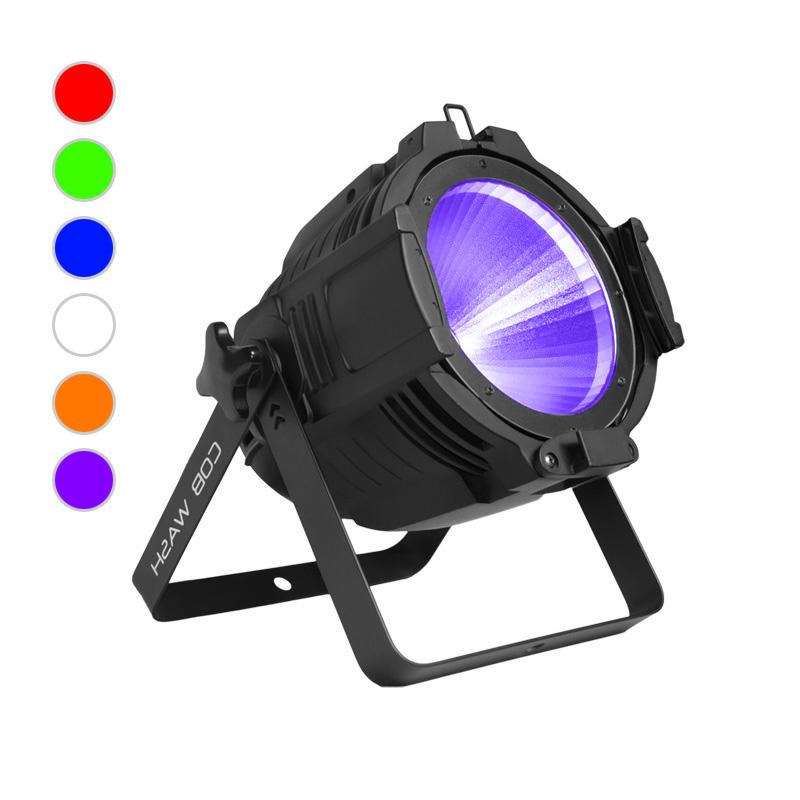 COB PAR Light_C PAR 1006 100W RGBWA+UV 6in1 COB LED PAR CAN Wash Lighting