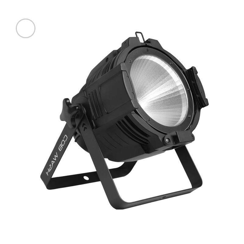 Lighting Par Led 100C 100W White COB LED Par Can Wash Lighting(2700-7000K)