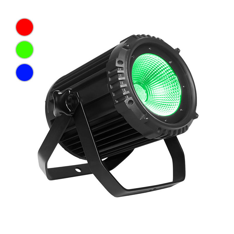COB PAR Light_C PAR 100TIP 100W RGB 3in1 COB LED PAR outdoor waterproof IP65 silence wash Lights