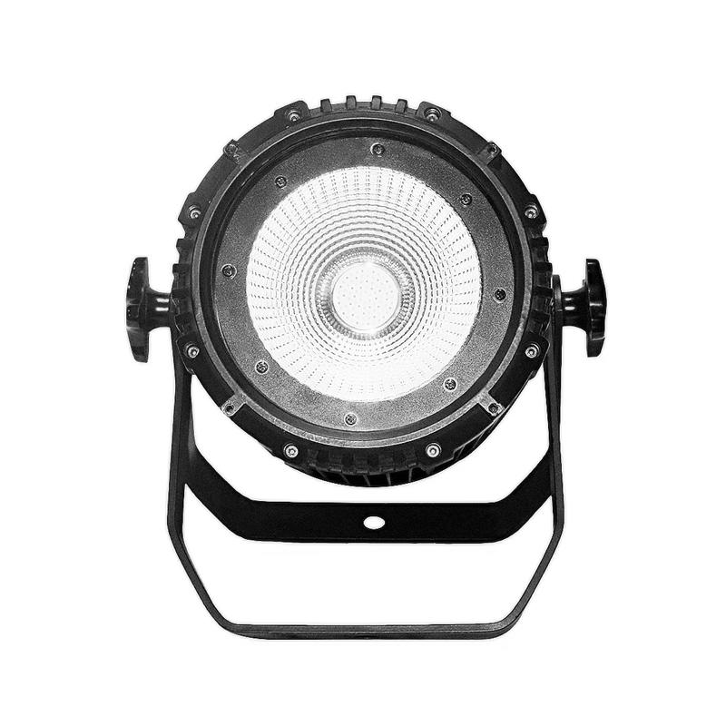 COB PAR Light_C PAR 100CS 100W white COB LED silence par lights for church wedding conference TV(2700K-7000K)