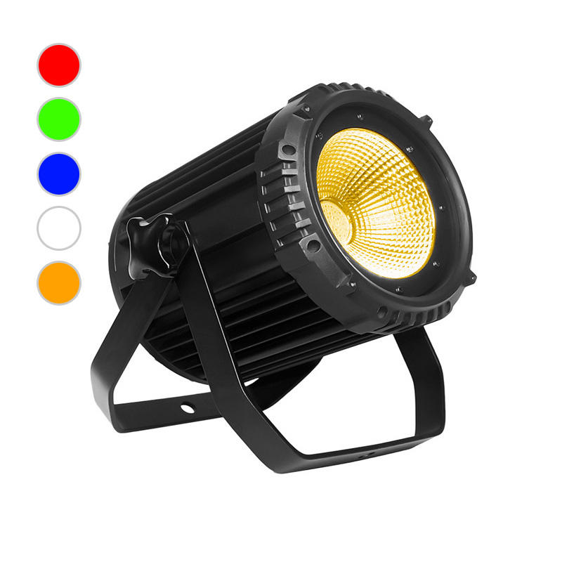 Cob Par Light C Par 1005s 100w Rgbwa 5in1 Cob Led Silence Par Lights