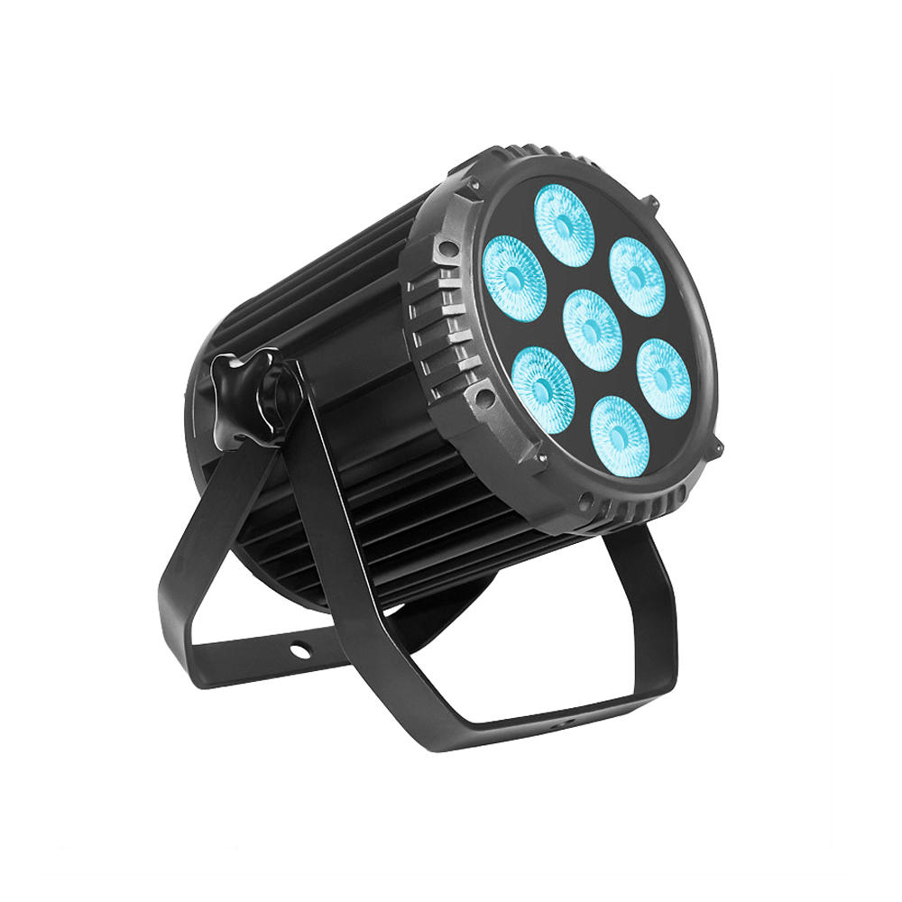 Led Par P WASH 715 7pcs 15W RGBW 4-In-1 Light Silence