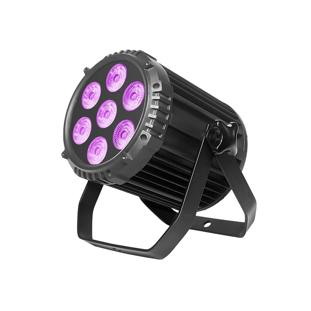 PAR Light_P WASH 715 7pcs 15W RGBW 4-in-1 LED par light silence