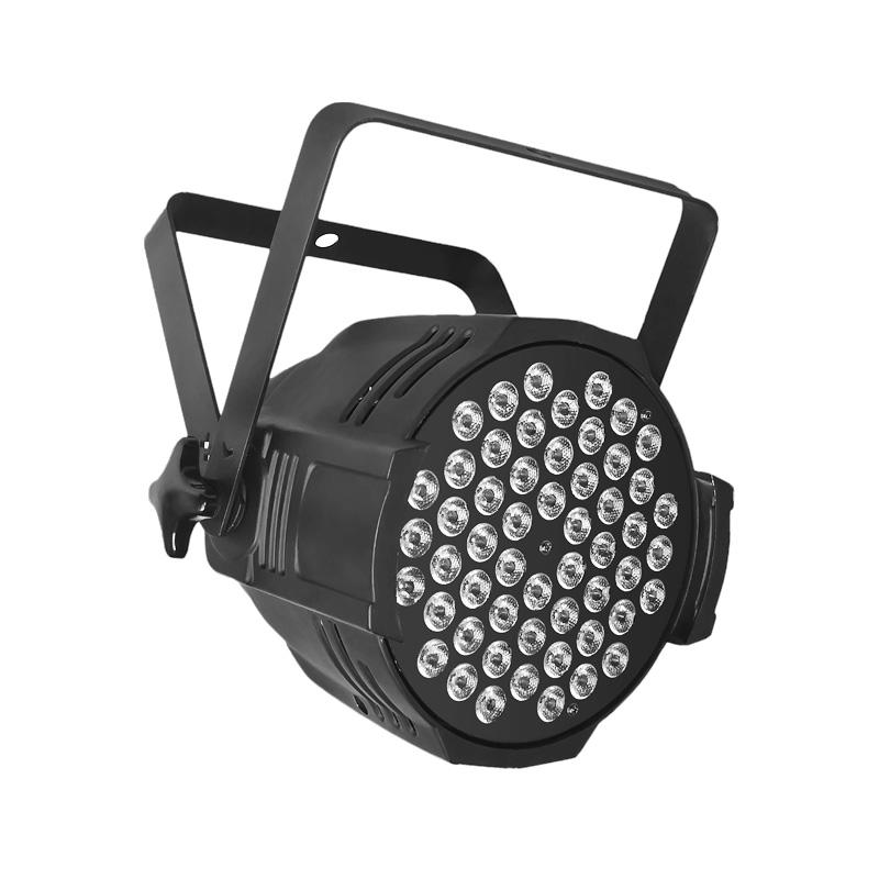 PAR Light_P WASH 5403  54pcs 3 W (R: 12, G: 18, B: 18, W: 6) LED PAR Stage Lighting