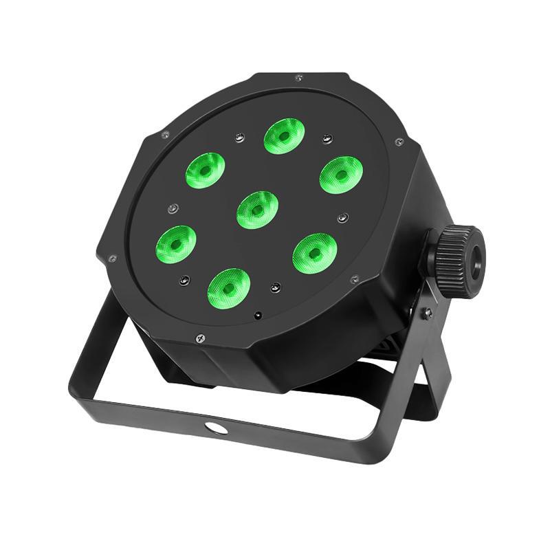 Mini PAR Light_P WASH 708 Mini 7pcs 8W RGBW 4-in-1 LED PAR Lighting