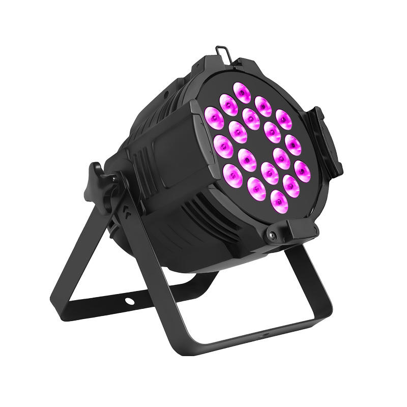 PAR Light_P WASH 188 18pcs 8W RGBW 4-In-1 Dj Led Par Light
