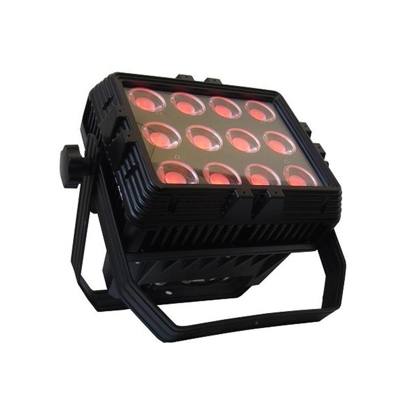 PAR Light_C PAR 68T IP 12pcs 15W RGB 3in1 LED par wash light waterproof IP65 Rated for outdoor