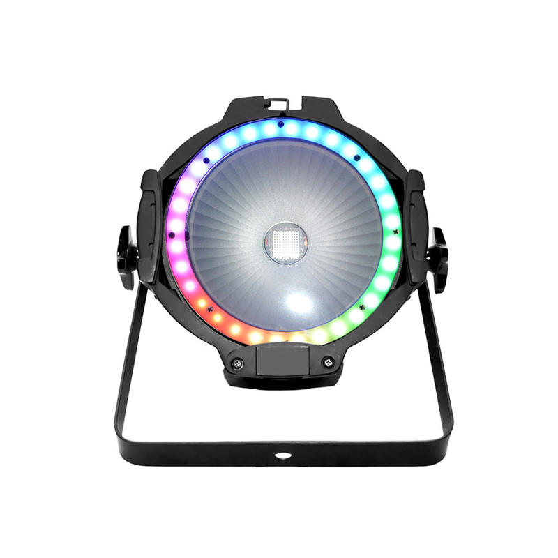 COB PAR Light_C PAR 100TR  100W RGB 3in1 COB and ring  RGB 3in1 SMD LED PAR WASH dj lighting