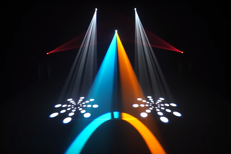 ledm moving light lighting for concerts STSLITE-12