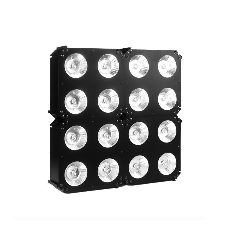LED Matrix Light_MATRIX 430 COB wash series are equipped with (4) 30W RGBW COB LED matrix lighting