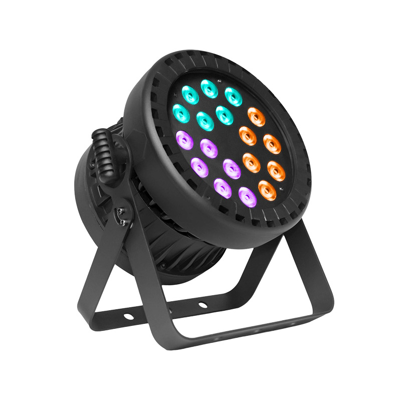 Led Par P WASH 1886 IP 18pcs 8W RGBWA+UV 6-In-1 LED Outdoor Waterproof IP65 Light