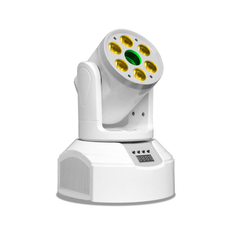200L Mini LED Lighting Center Laser Light And Outer Ring RGBW Led Moving Wash Lights