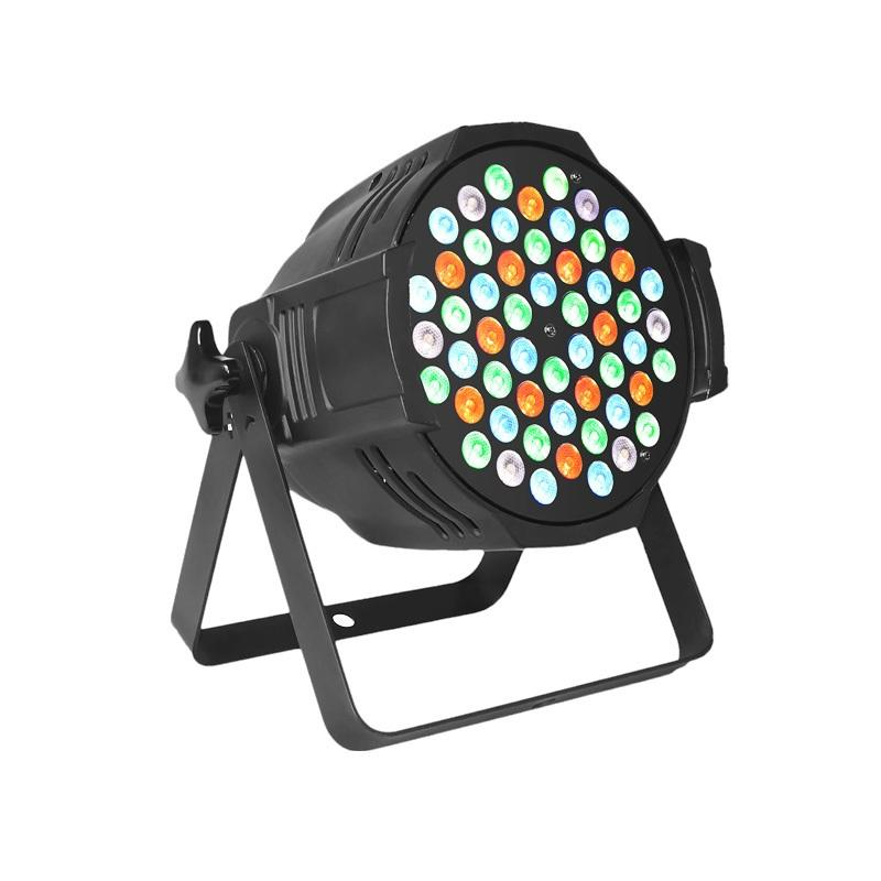 PAR Light P WASH 5403  54pcs 3 W (R: 12, G: 18, B: 18, W: 6) LED PAR Stage Lightings
