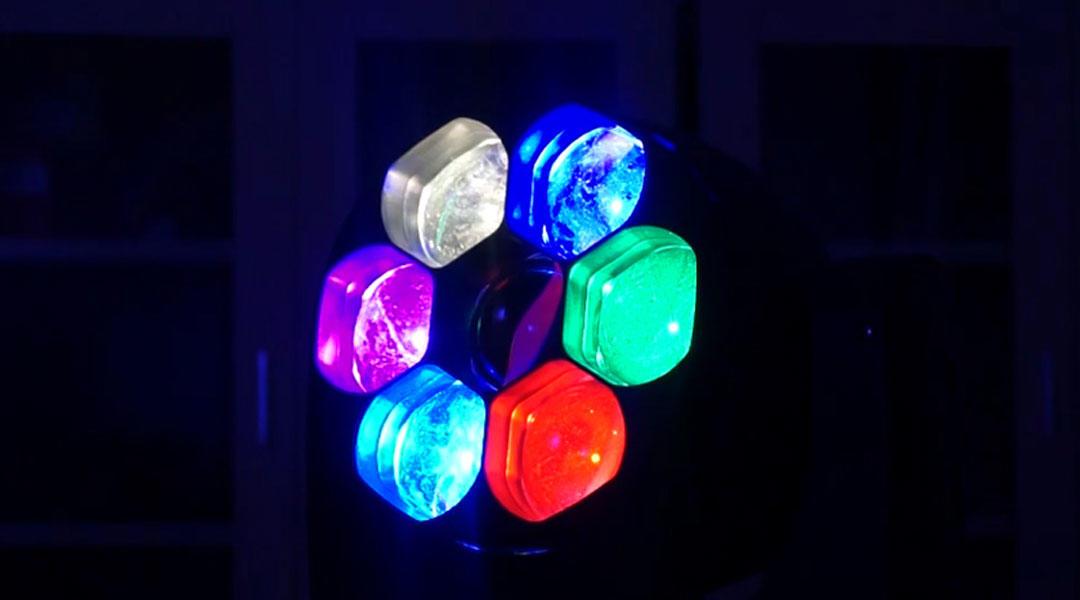 Moving Head Wash LED_M WASH 740Z 7pcs 40W RGBW 4-in-1 OSRAM LED ZOOM WASH Light