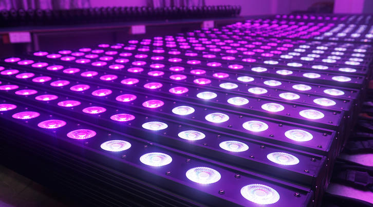 Effect Light_IP WASH 1410  14*10W RGBW  4in1 LED