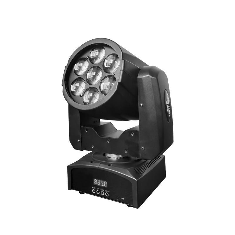 7pcs 20W RGBW 4-In-1 LED ZOOM WASH Best Led Wash Lights