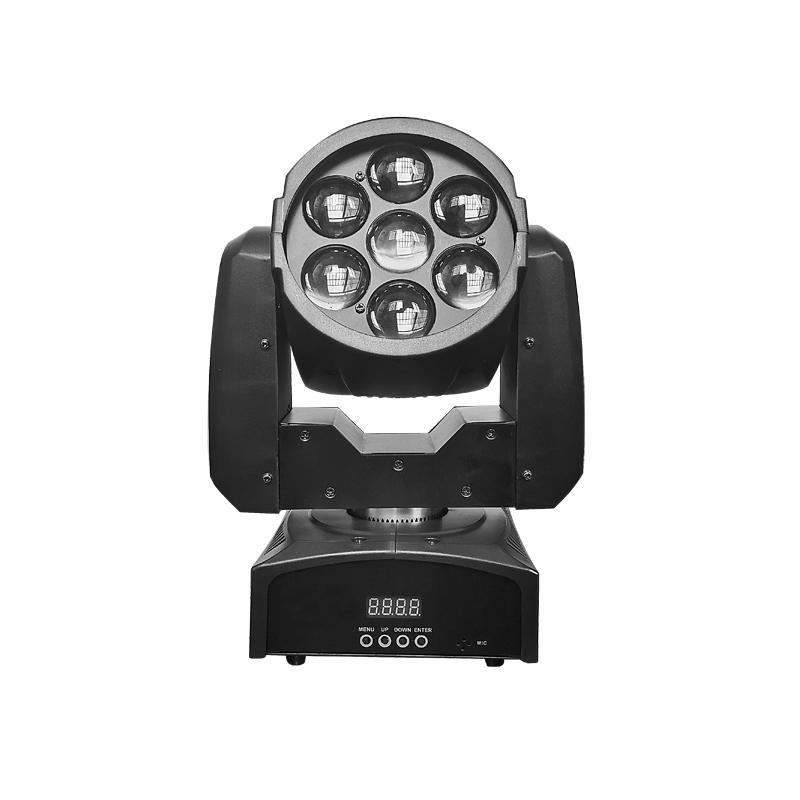 Moving Head Wash LED_M WASH 720Z  7pcs 20W RGBW 4-in-1 LED ZOOM WASH Light