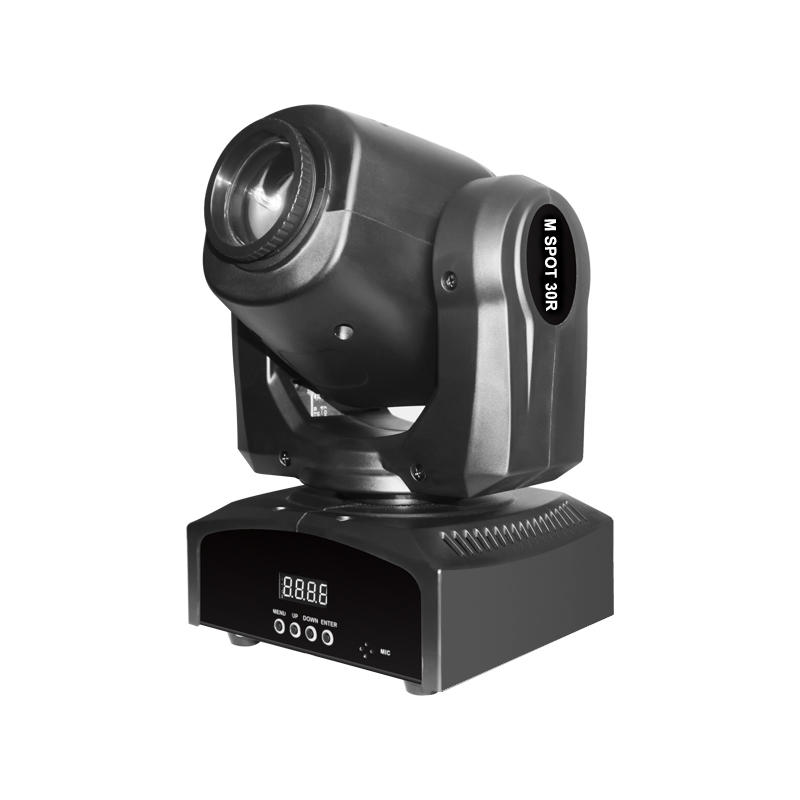 Moving Head Led Spot LED_M SPOT 30R Mini 30W LED DJ Party Lighting