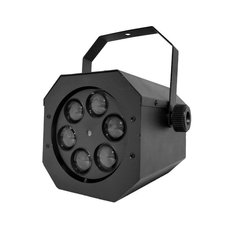 LED Effect Light_6 bee eyes + laser Light colored Stage show Lights for disco / party / theatre