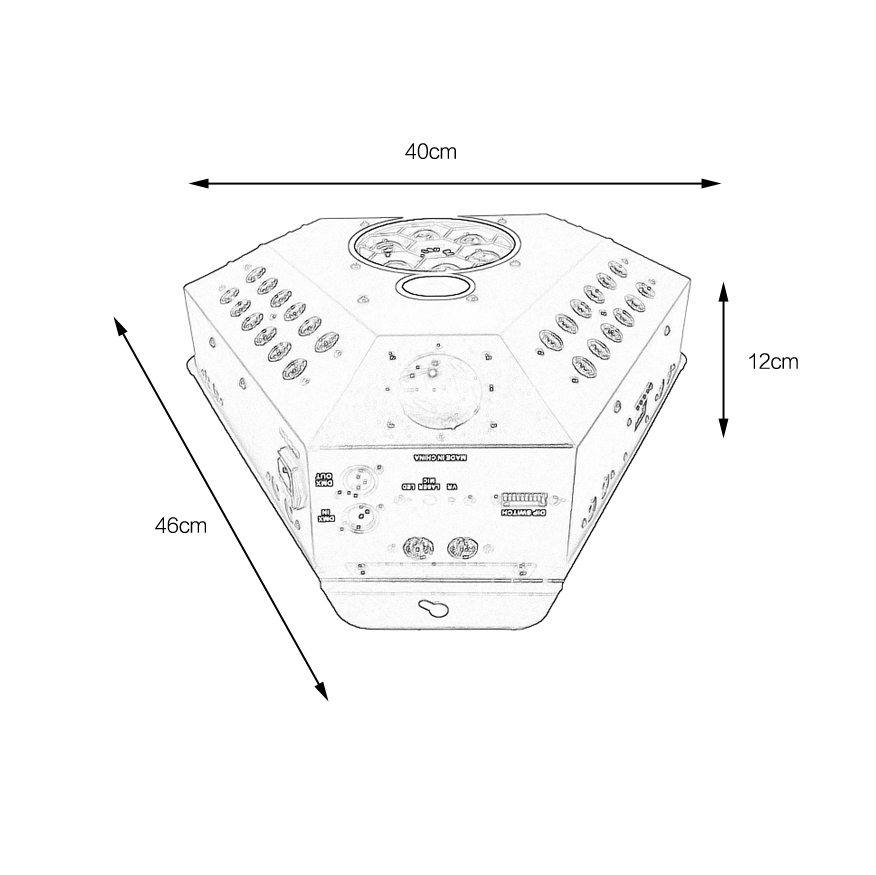 STSLITE High Bright theatrical lighting for sale for disco-1