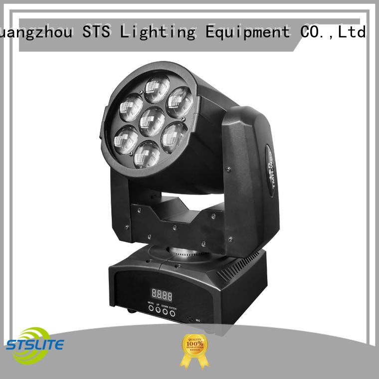 STSLITE rich saturated colours led moving head spot supply for theatre,