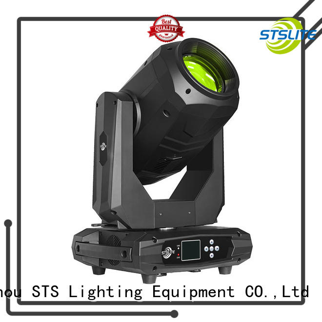 STSLITE clear pattern moving head wash versatility for concerts