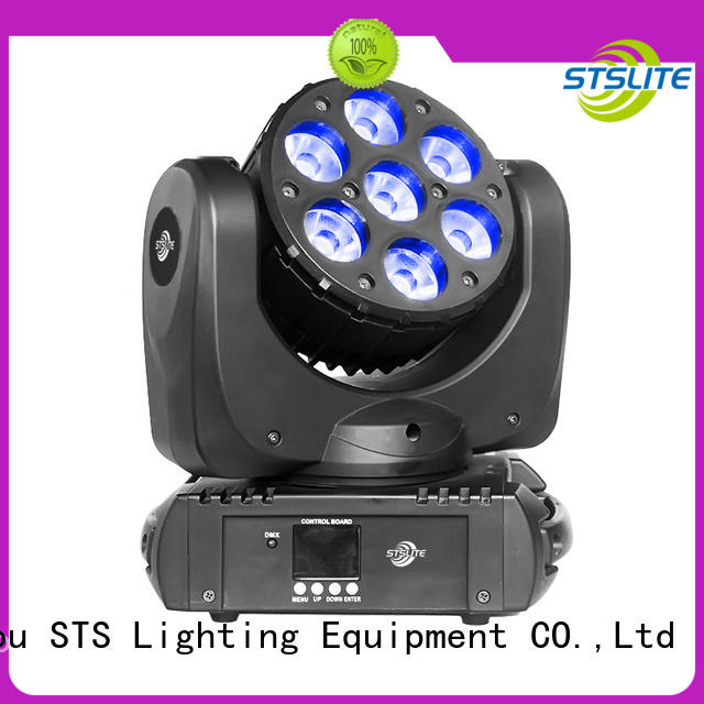 STSLITE 19pcs wash mini led moving head factory price for live show