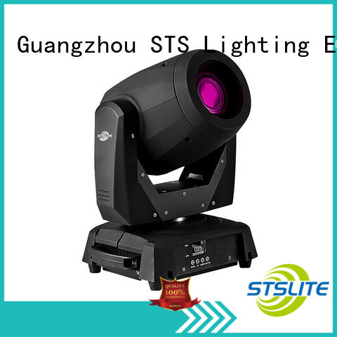 STSLITE 120 led moving head spot sound control for theaters