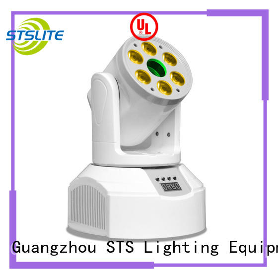 STSLITE rich saturated colours moving wash lights maker for discotheques