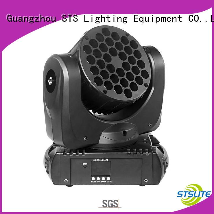 STSLITE professional led moving wash lights maker for TV studio,