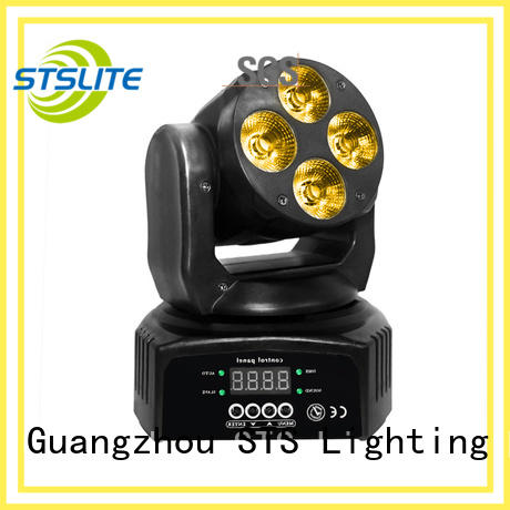 STSLITE rich saturated colours moving led wash factory price for TV studio,