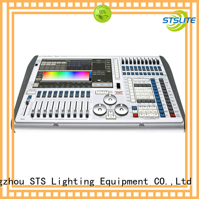 touch dmx led controller 90240vac for software STSLITE