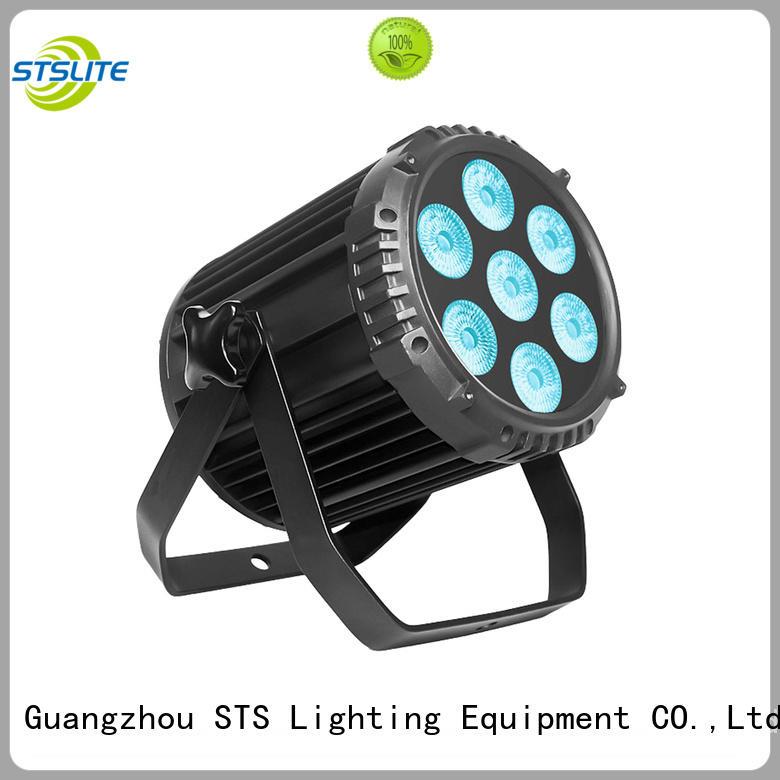 STSLITE 1004 rgb led par light zoom effect for outdoors