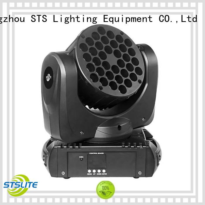STSLITE electronic mini wash led moving head supply for TV studio,