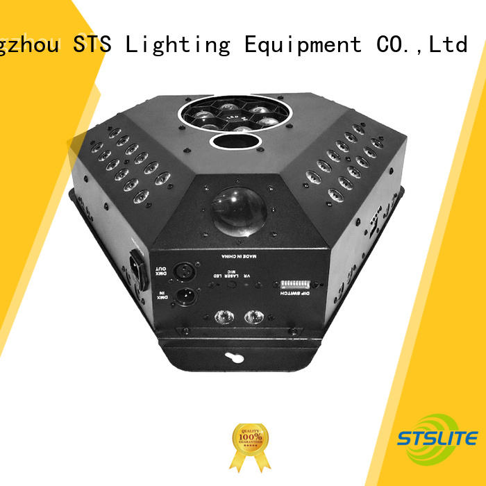 STSLITE Low Power wireless led stage lights manufacturer for disco
