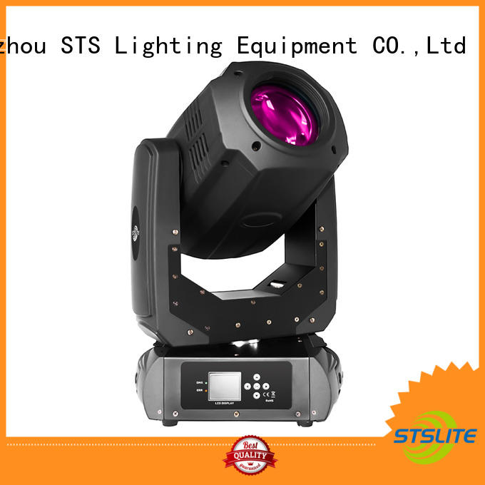 200W LED moving head lights effect auto-mode for concerts