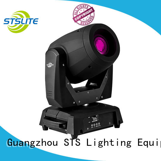 STSLITE rich color led moving head light sound control for theaters
