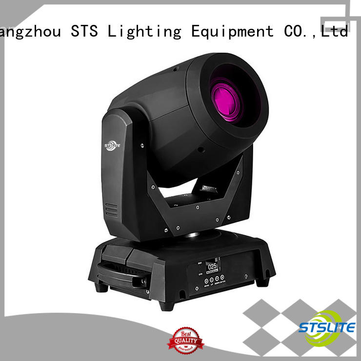 200W LED moving head spotlight head versatility for theaters