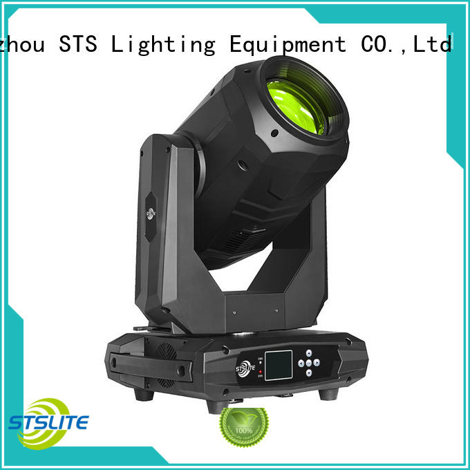 rich color moving light fixture 200w versatility for concerts